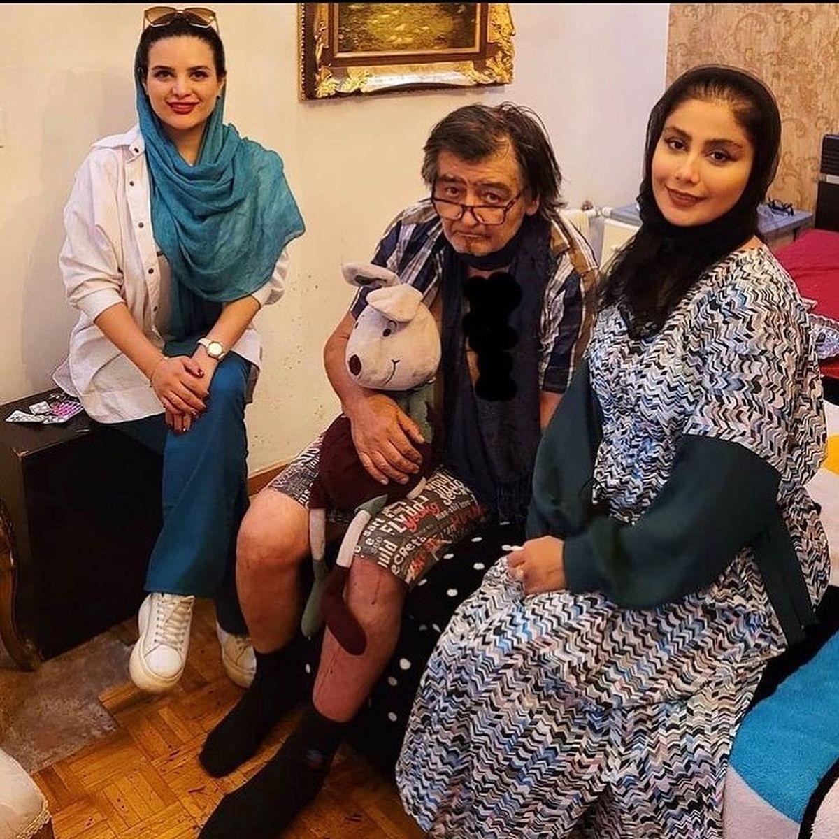 عکس ناراحت کننده از رضا رویگری | عکس همسر جوان رضا رویگری