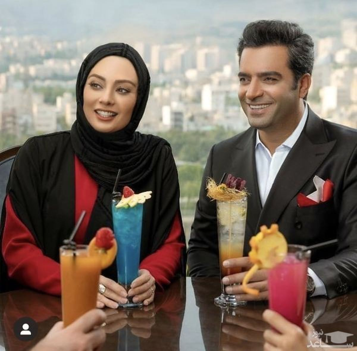 عکس جالب و دیده نشده از یکتا ناصر در فیلم رحمان 1400 + عکس