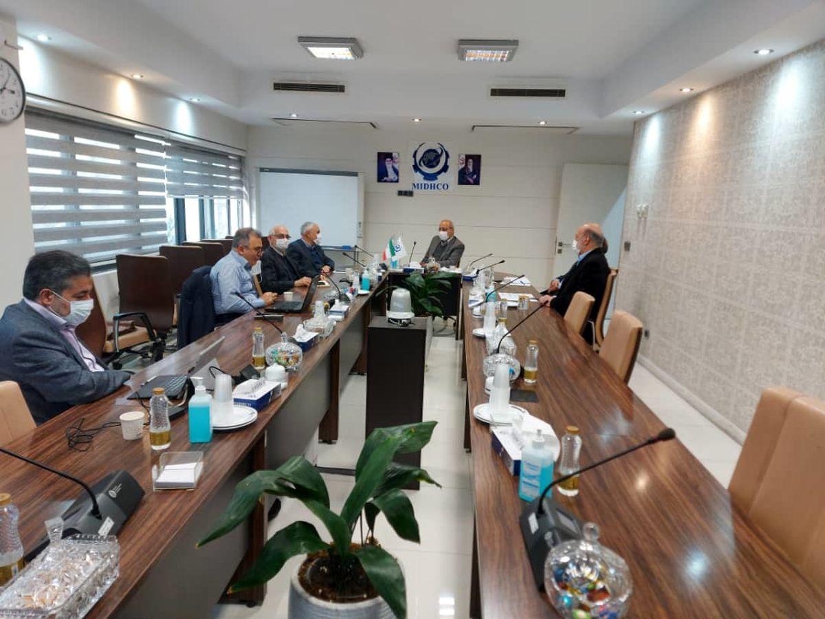 یکصد و چهل و نهمین جلسه تولید شرکت میدکو برگزار شد