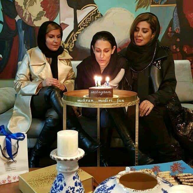 عکس دختر مهران مدیری در محل کار خود