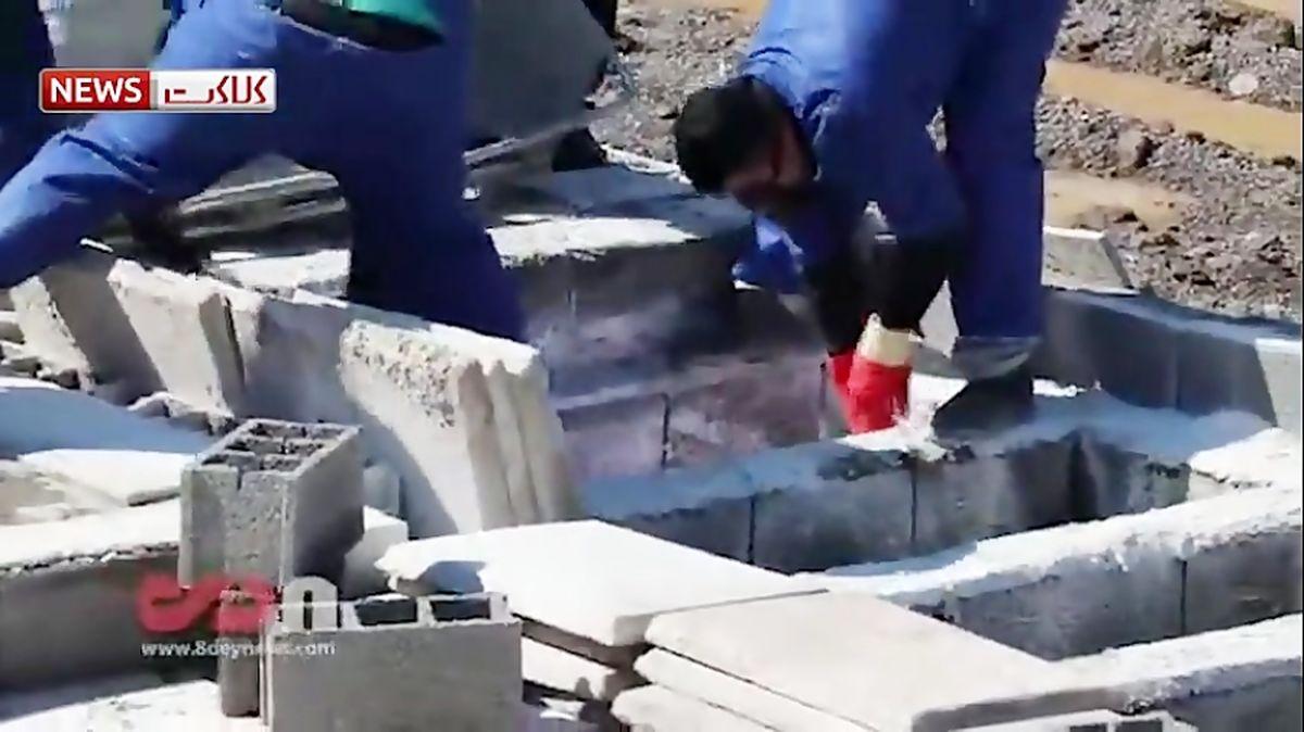 ویدیوی دردناک از غسل و دفن بیماران کرونایی + عکس