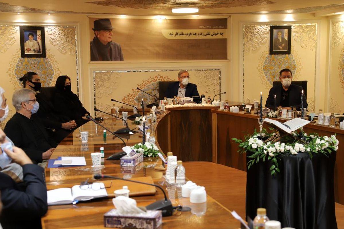 مراسم یادبود معمار برجسته کشور «مهندس فرهاد احمدی» برگزار شد