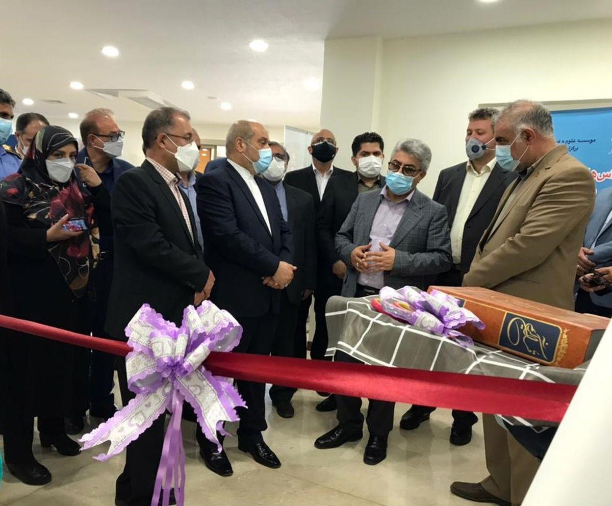 ساختمان جدید «آموزشگاه علوم و فنون کیش» افتتاح شد