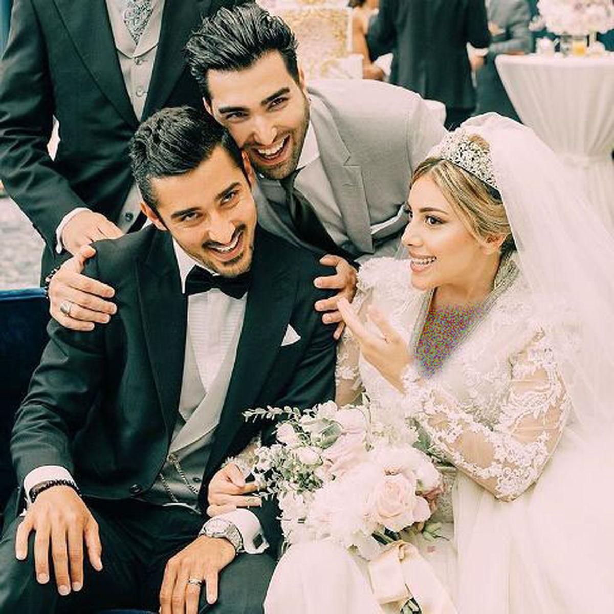 تصاویر لو رفته از ازدواج مجلل و لاکچری قوچان نژاد و همسرش در هلند + تصاویر