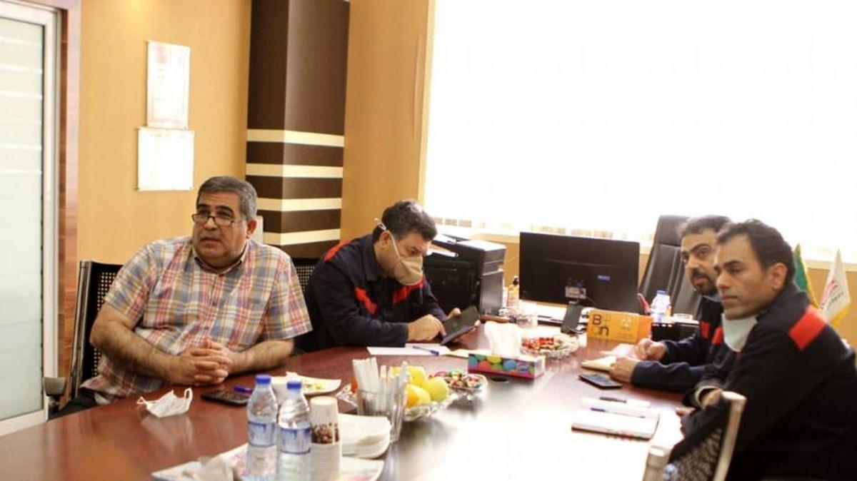جلسه بررسی ابعاد مناقصه اجرای طرح فولاد سازی فولاد اکسین برگزار شد