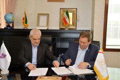 امضای قرارداد عاملیت اعطای تسهیلات میان بانک صنعت و معدن و سازمان صنایع کوچک و شهرکهای صنعتی ایران