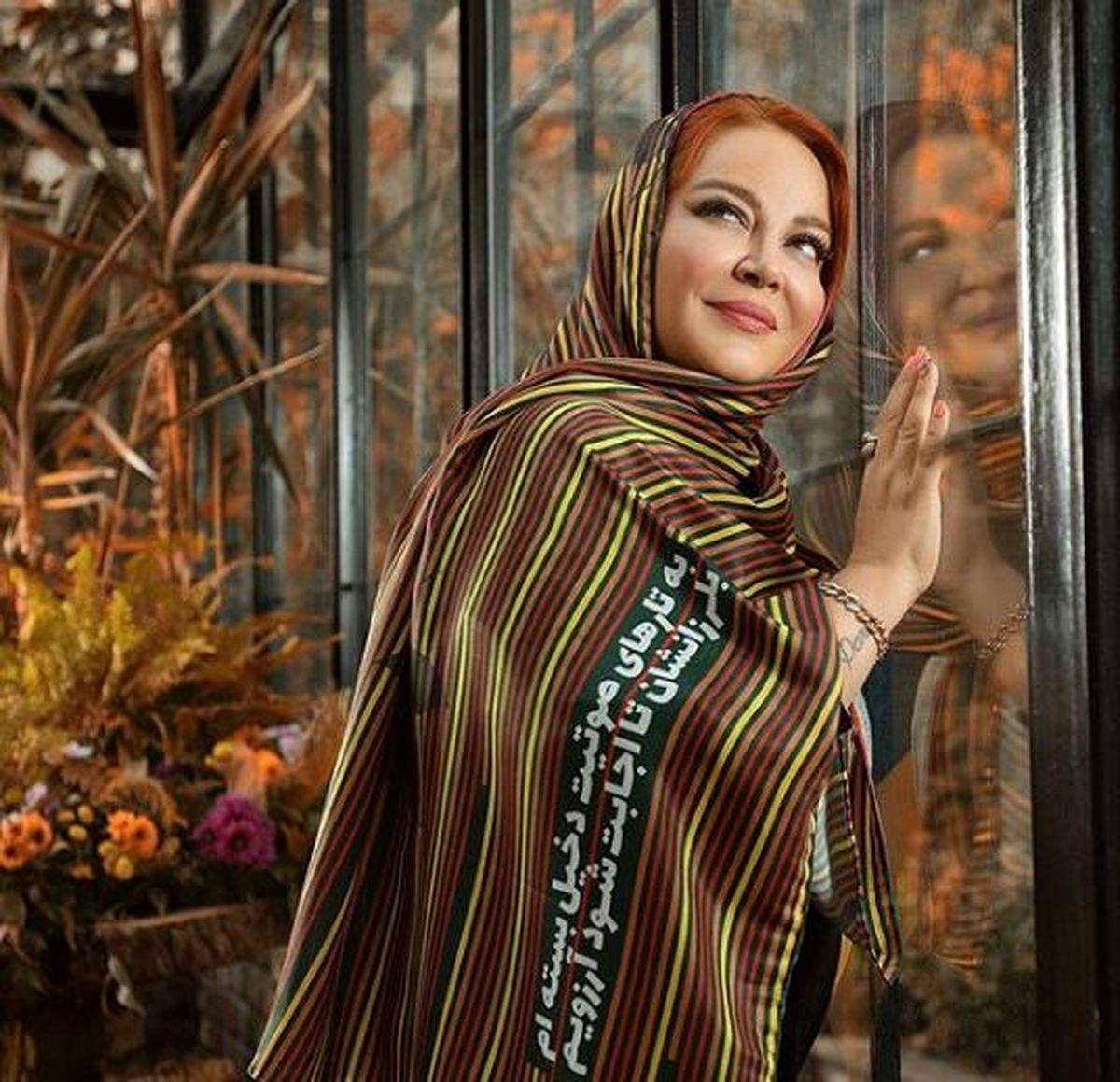 ست لاکچری و گران قیمت بهاره رهنما و همسرش در جشن تولد همسرش + عکس