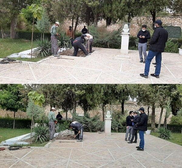 محل دفن محمدرضا شجریان در طوس