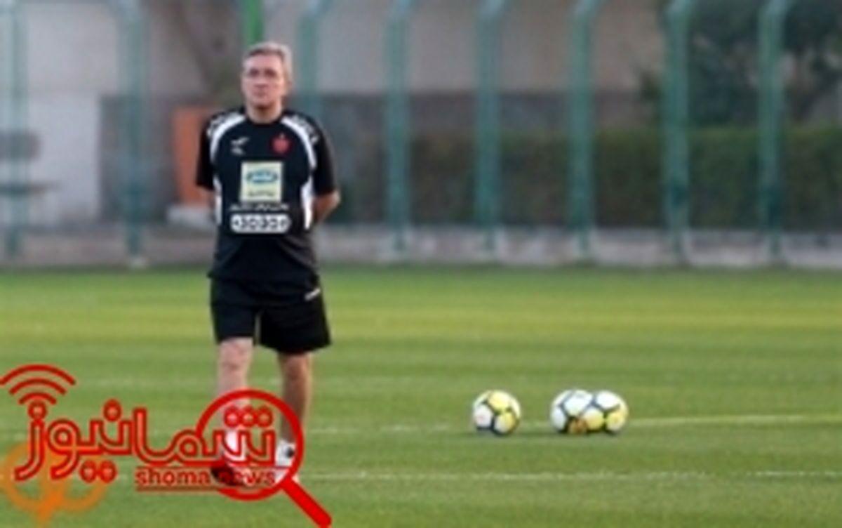 فوتبال درون تیمی و بدنسازی، برنامه آخرین تمرین پرسپولیس در هفته جاری