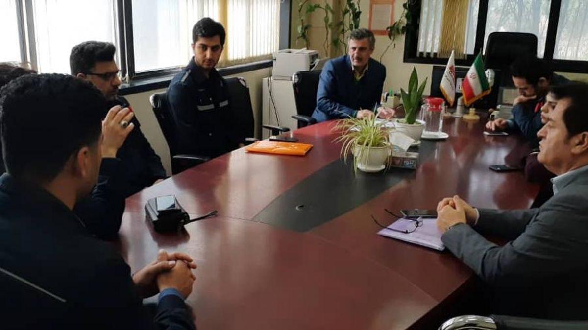 بررسی طرح یکی از کارکنان فولاد اکسین باحضور ارزیابان وزرات کار