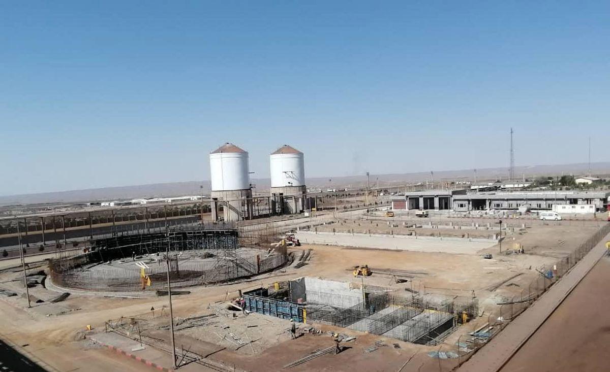 تولید 800 هزارتن آهن اسفنجی در شرکت فولاد بافت در سالجاری