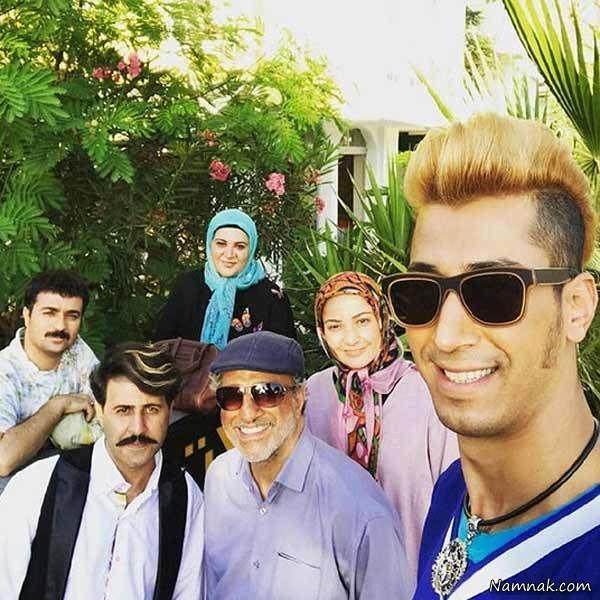 سلفی بهتاش با بازیگران پایتخت 5