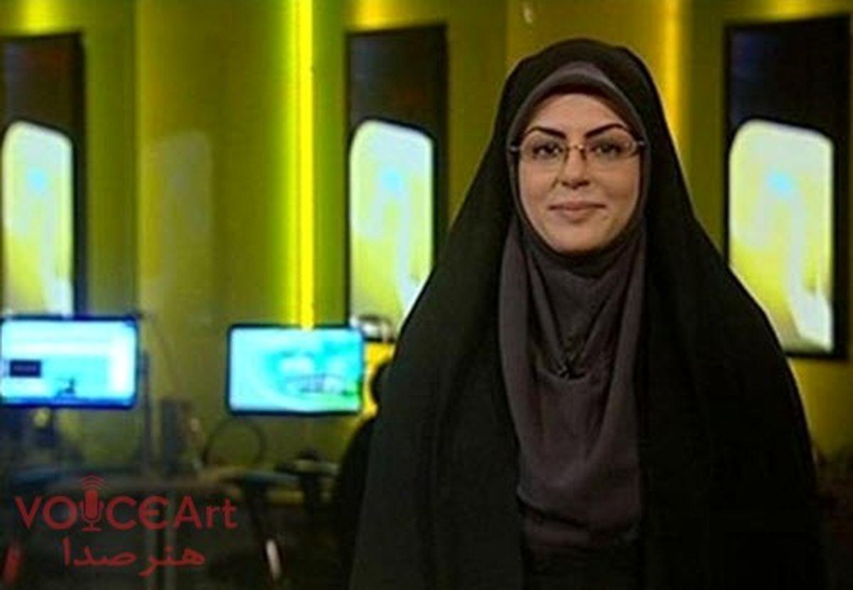 مجری اخبار 20:30 به کرونا مبتلا شد + عکس