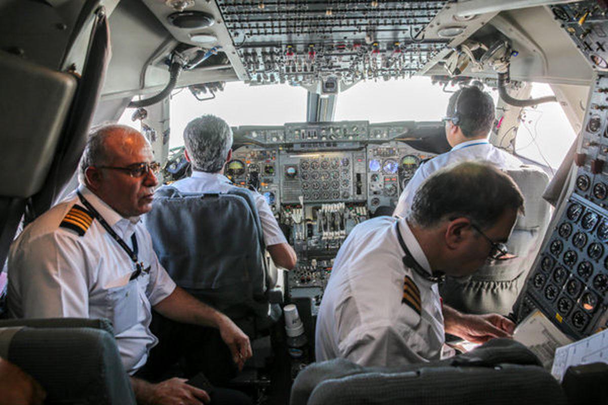 حقوق خلبانان در شرایط کرونایی + جزئیات