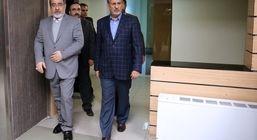 جهانگیری از ستاد انتخابات کشور بازدید کرد