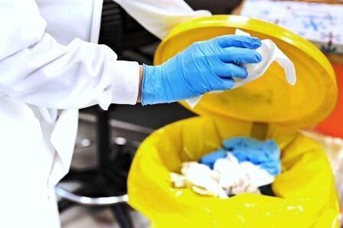 نحوه جمع آوری زباله های بیماران کرونایی در منزل