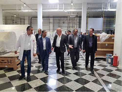 بازدید عضو هیات مدیره بانک ملی ایران از گروه تولیدی کاله