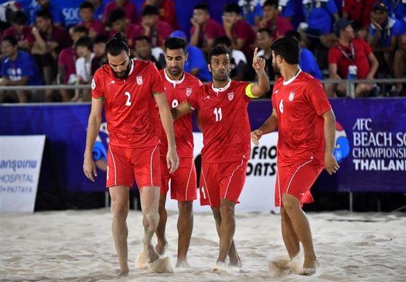 جام بین قارهای فوتبال ساحلی/ ایران پیروز نبرد مقابل مکزیک