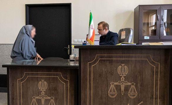 دادگاه زن متهم تولیدکننده مواد بهداشتی تقلبی + تصاویر