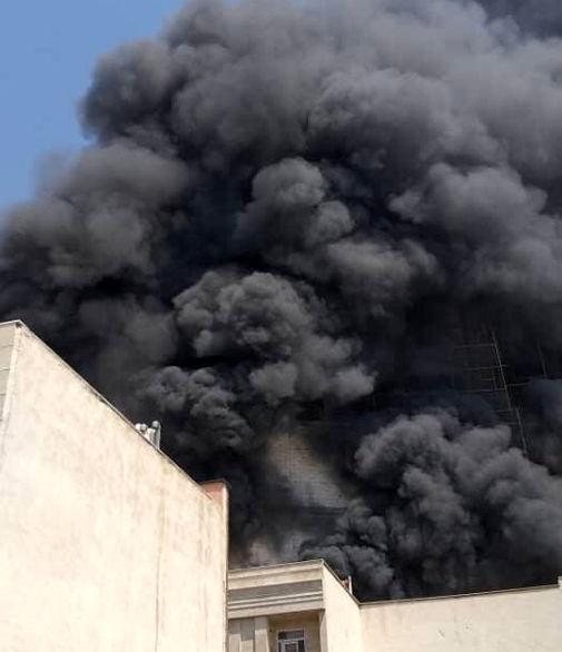 جزییات حریق مخزن گازوئیل در تهران