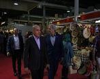بازدید مدیرعامل بانک کشاورزی از چهارمین نمایشگاه توانمندی های روستاییان وعشایر