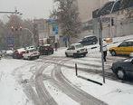 پاکسازی معابر تهران از برف