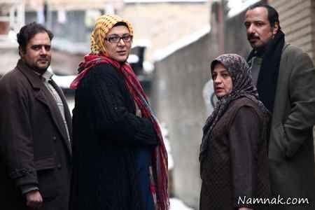 امیر جعفری و همسرش در سریال چک برگشتی