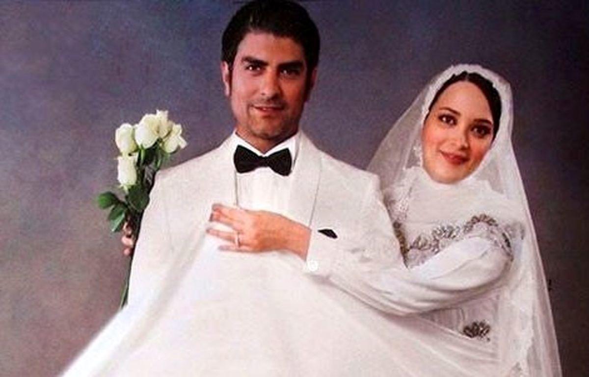 همسر بهنوش طباطبایی بالاخره ازدواج کرد + عکس مراسم