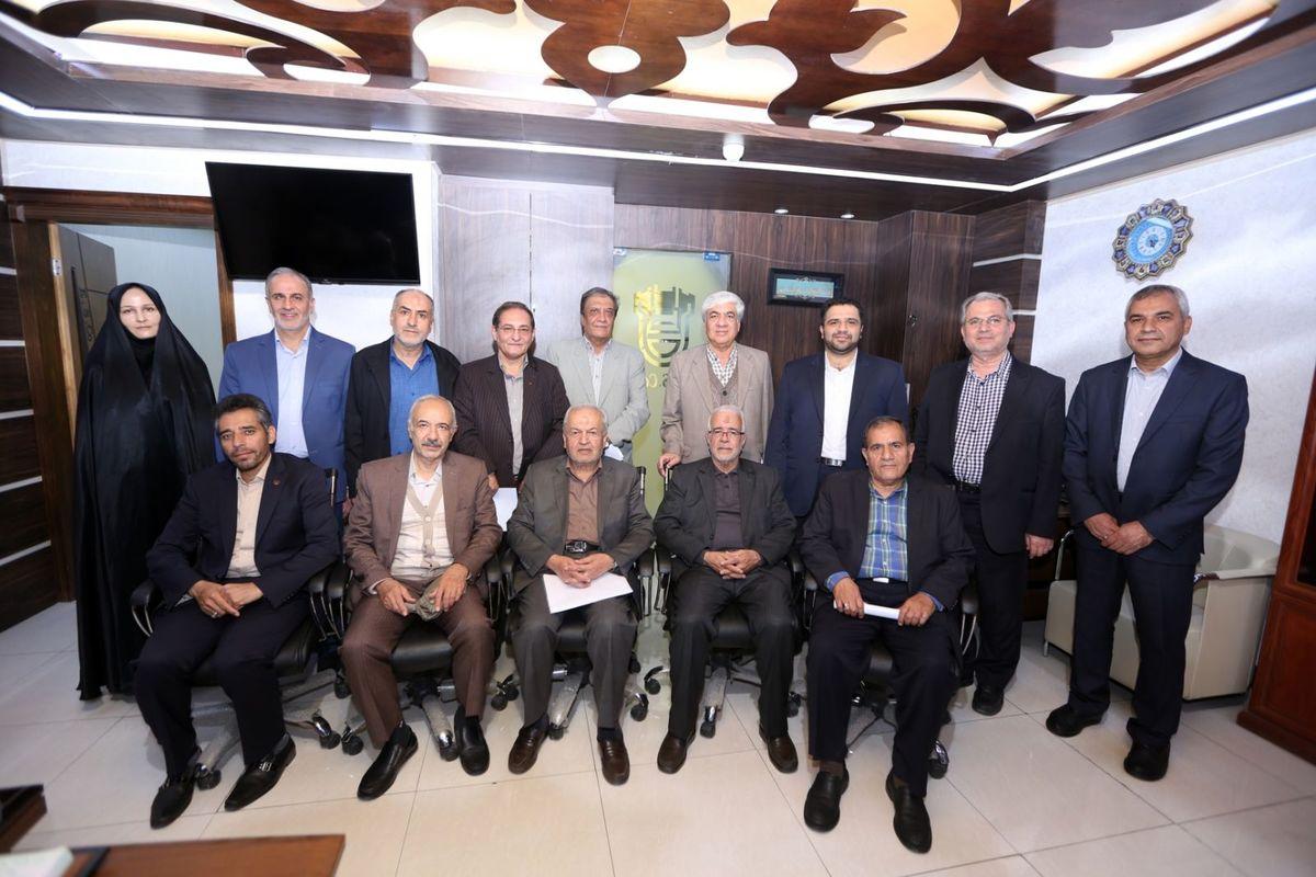 جلسه مجمع عمومی و هیات مدیره موسسه مدیران پیشگام ذوب آهن