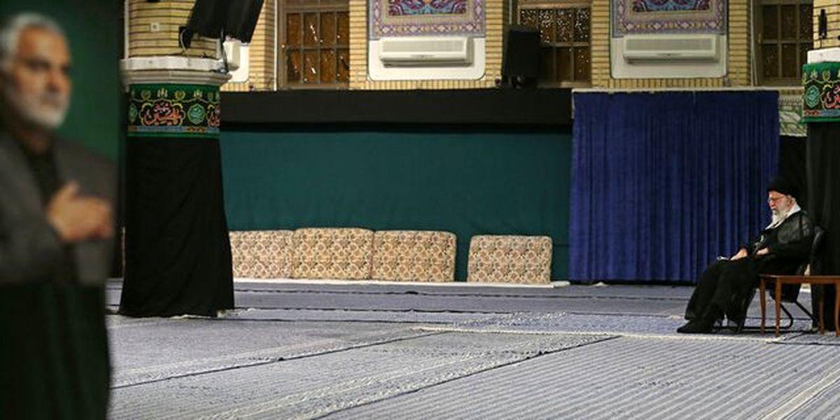 مراسم عزاداری شب شهادت حضرتامامسجاد (ع) برگزار شد