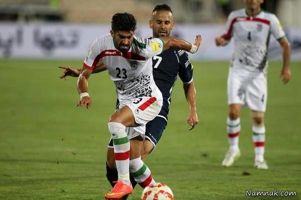 Ramin Rezaeian در تیم ملی