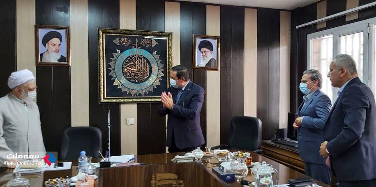 استقبال سفیر سوریه از آغاز فعالیت بیمه ملت به عنوان اولین شرکت بیمه ایرانی در سوریه