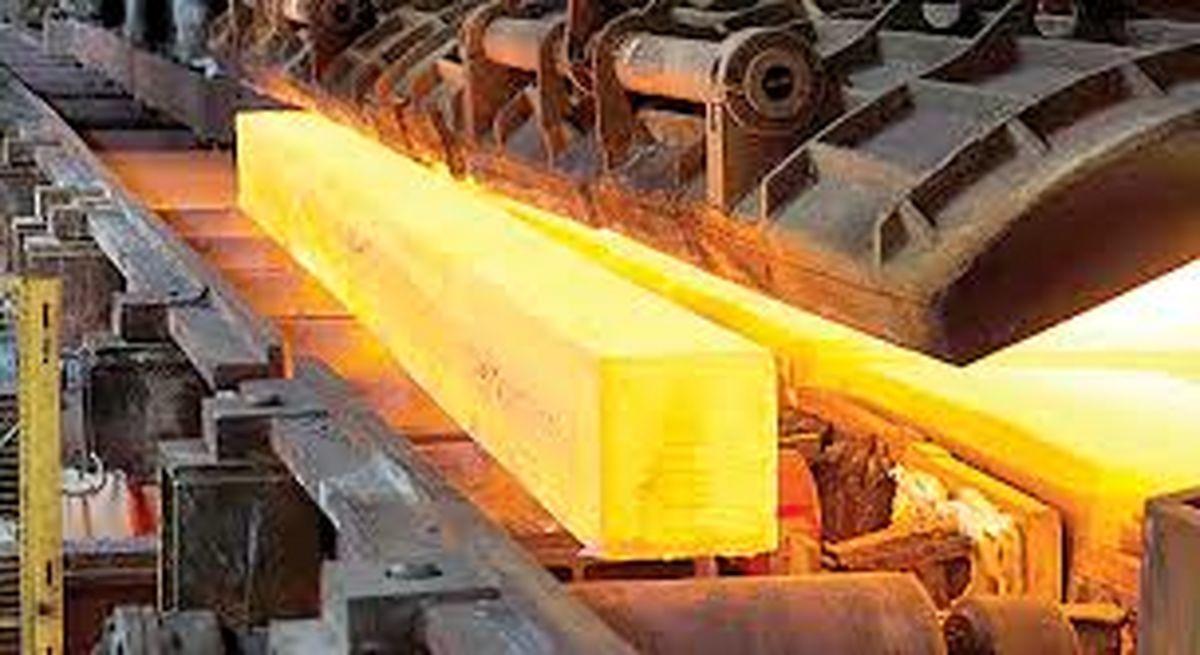 افزایش 9.6 درصدی تولید فولاد خام ایران
