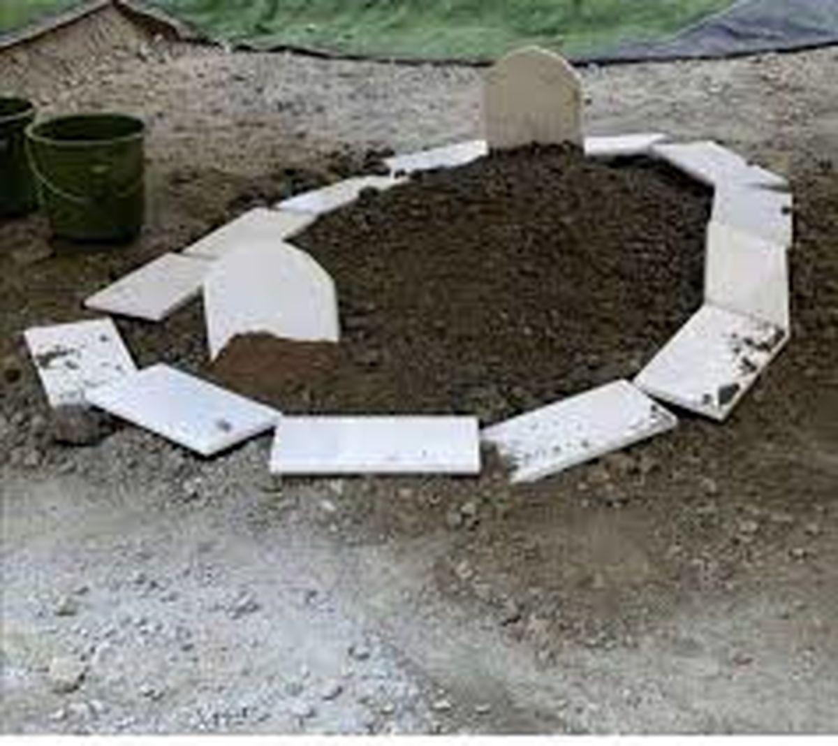 دفن جنازه مرد کرجی توسط 2 قاتل بی شرم در باغ