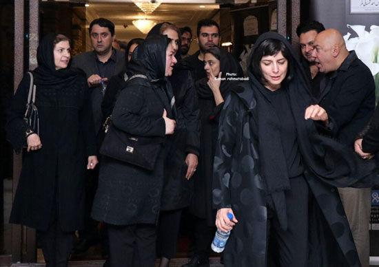 حضور هنرمندان در مراسم یادبود مظاهر مصفا + عکس