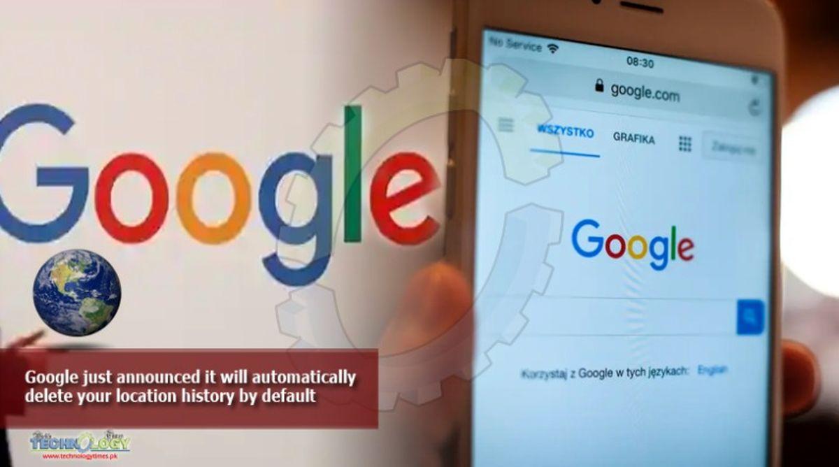 گوگل تاریخچه موقعیت مکانی و فعالیتهای کاربران در وب را حذف میکند