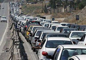 وضعیت ترافیک در آزادراه کرج-تهران