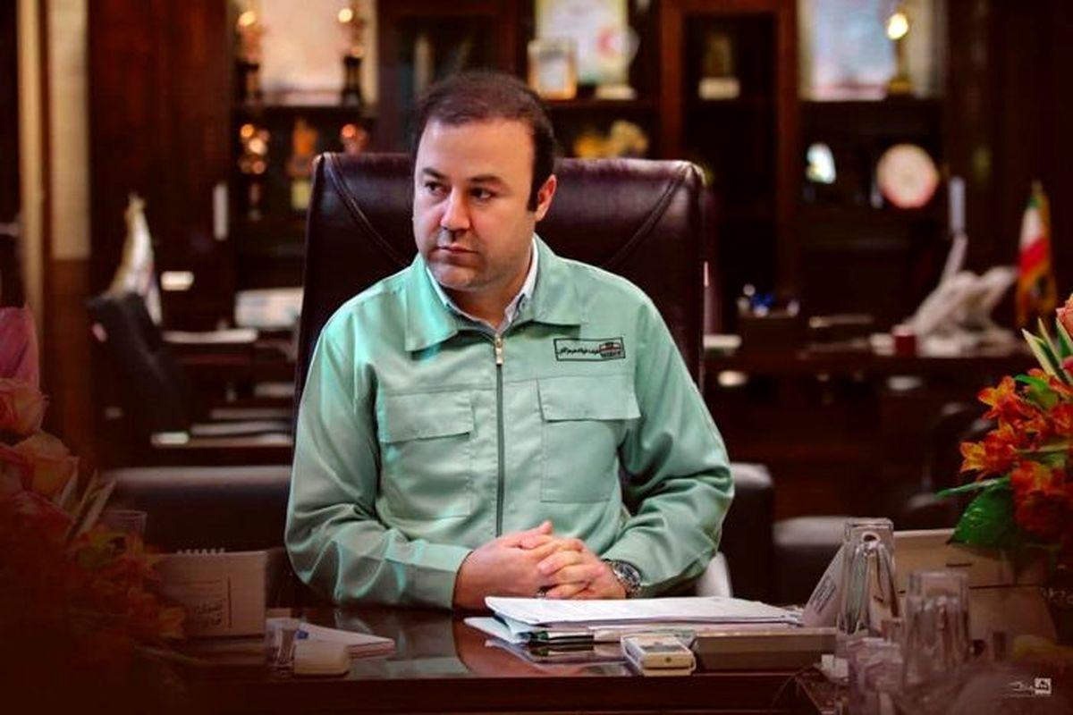 پیام تبریک مدیرعامل فولاد هرمزگان به وزیر صنعت،معدن و تجارت