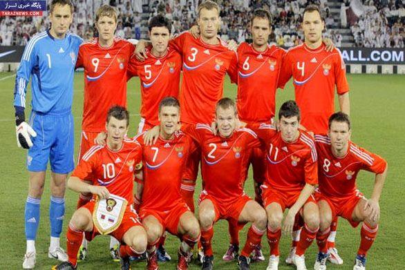 تیم ملی فوتبال روسیه در یک قدمی حذف از یورو ۲۰۲۰