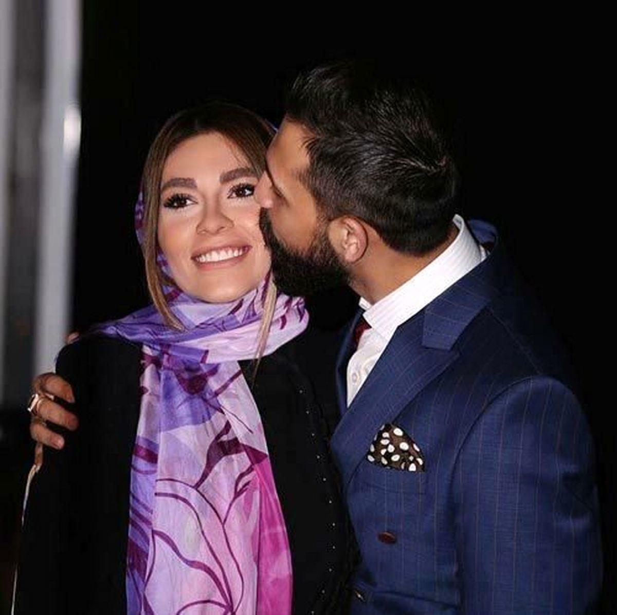 محسن افشانی فیلم لباس پوشیدن همسرش را پخش کرد + فیلم جنجالی