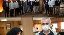 تلاشگران ذوب آهن اصفهان برای جهش تولید با تمام توان همت می کنند