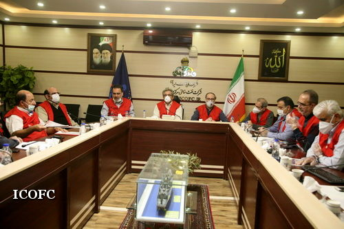 نشست کمیته مدیریت شرایط اضطراری شرکت ملی نفت ایران