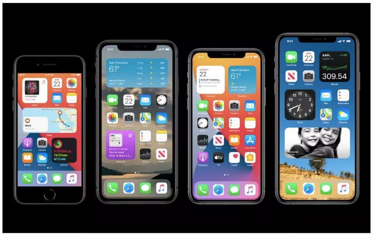طراحی هوم اسکرین آیفون اپل سادهتر می شود