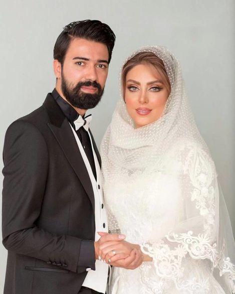 ازدواج نیلوفر شهیدی بازیگر سریال مرضیه + فیلم
