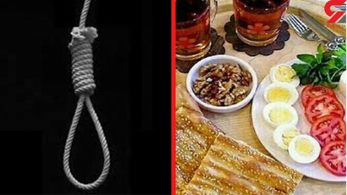 ماجرای خودکشی مرد تهرانی بعد از خوردن صبحانه + جزئیات