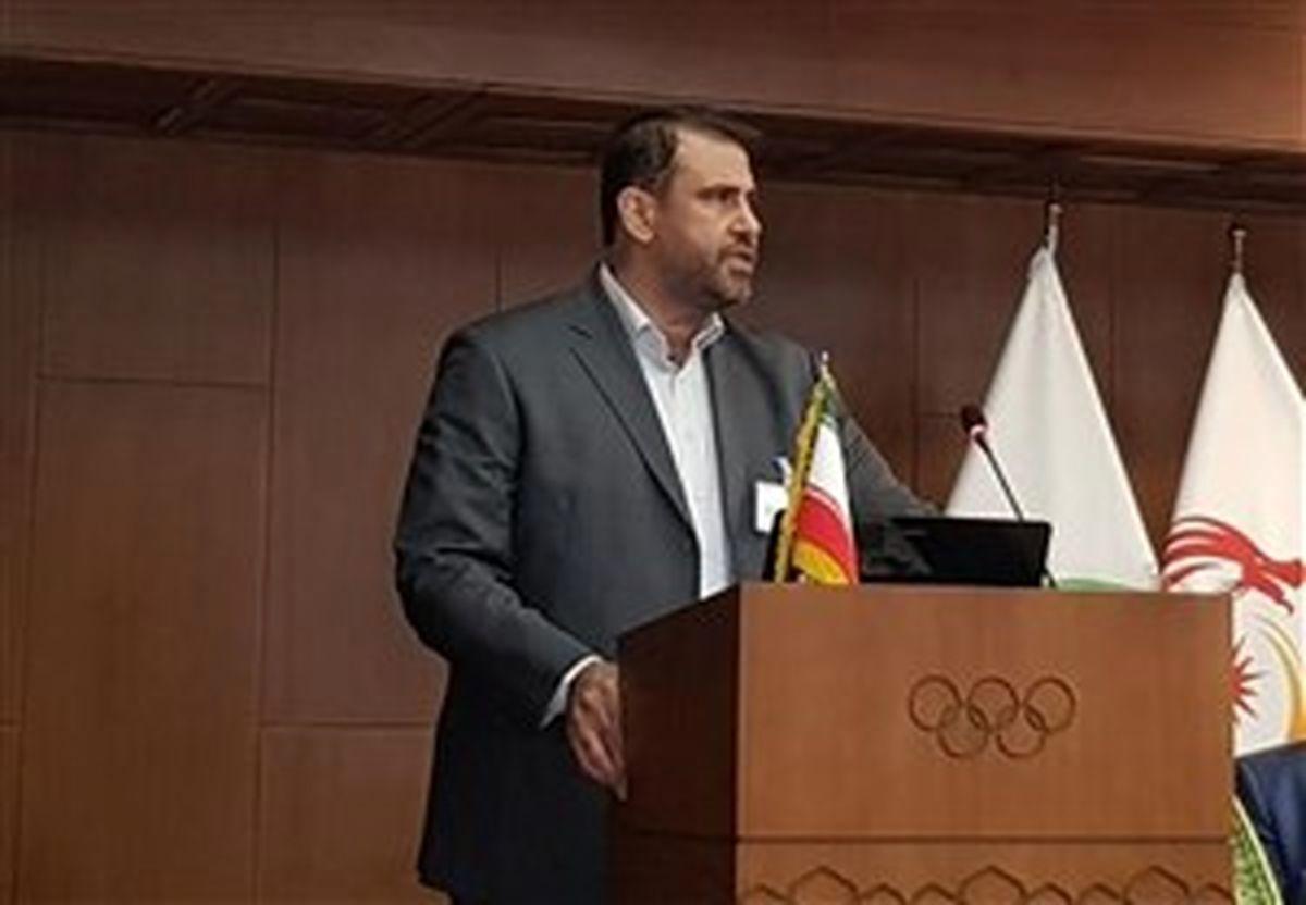 مهدی حیدری رئیس فدراسیون نجات غریق و غواصی شد