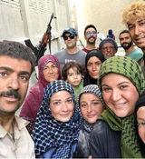 عکس لورفته از بازیگران سریال پایتخت در کنار همسرانشان + عکس