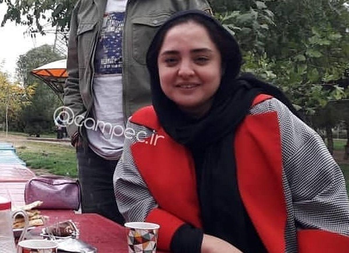 عکس لورفته از نرگس محمدی بازیگر نقش ستایش در پشت صحنه + عکس و بیوگرافی