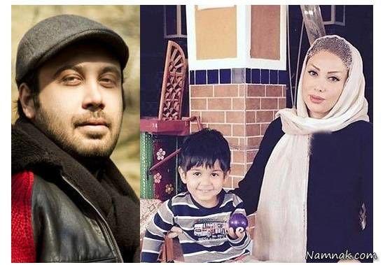محسن چاوشی به همراه همسر و پسرش