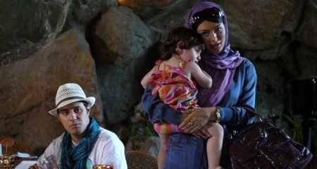 سحر قریشی فیلم همه چی آرومه,سحر قریشی و فرزندش,سحر قریشی و دخترش